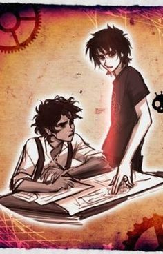 """""""Together: We Will Fight 'Till the End (A Nico Di Angelo and Leo Valdez fanfic) - Mobius, The Underworld, And Leo Valdez"""" by welovePJO - """"Two new demigods come to Camp Half-Blood, there names are Korra (daughter of Ares) and Harper (daughte…"""""""