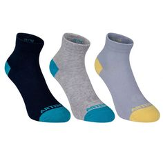 3 Pack Comfortable Cotton Socks Athletic Socks for Sports, Unisex