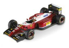 Jean Alesi, Ferrari F93 A, #27, Italian GP 1993, Hot Wheels Elite 1/43, code T6283