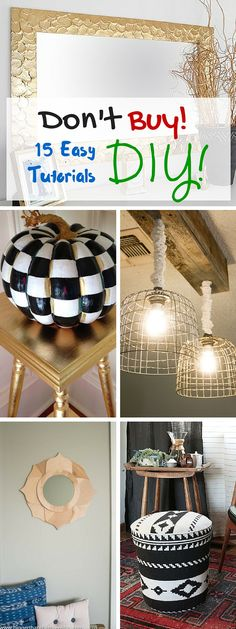 Why buy when you can #DIY #crafts #homedecor