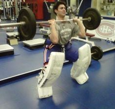 Price is Right! Serious goalie workout