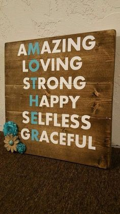 Mothers Day 3 Diy Gifts Mom For Signs