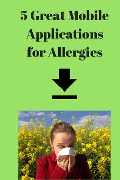 Learn about 5 great mobile applications you can use to manage and control allergies. Allergy Free Recipes For Kids, Mobile Applications, Kids Meals, Free Food, Allergies, Learning, Studying, Teaching, Onderwijs