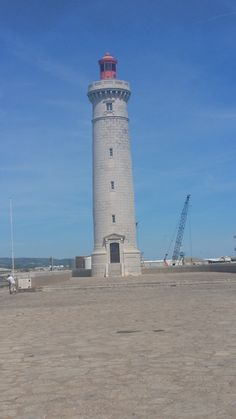 Lighthouse in Sete, France Cn Tower, Lighthouse, France, Building, Places, Travel, Bell Rock Lighthouse, Light House, Viajes