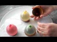taza de chocolate con globos - YouTube