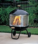 Makes for a nice spring or fall evening outdoors.