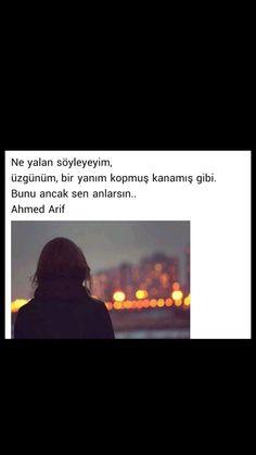 Beni ancak sen anlarsın Ahmed Arif