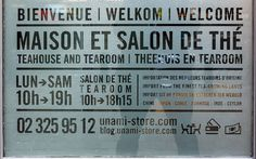 Unami Maison et Salon de Thé Rue du Bailli, 97 Bruxelles 2015