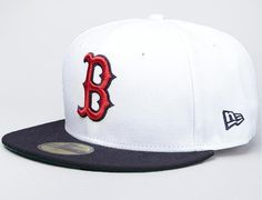 NEW ERA x MLB「Boston Red Sox White Top」59Fifty Fitted Baseball Cap