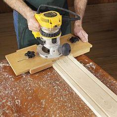 Fluting Jig Woodworking Plan, Shop Project Plan | WOOD Store