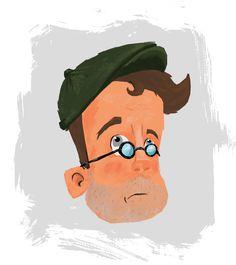 Head - character design for short film Headless: https://vimeo.com/174536860 created by Rhys Harvey - http://www.rhysharvey.com/