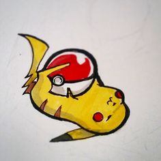 PI PIKA. CHUUU! (I just made a #Pikachu drawing video. Check out my Youtube page!)