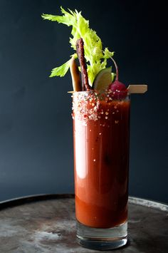 Spicy Bloody Mary with Candied Bacon | Spiceologist