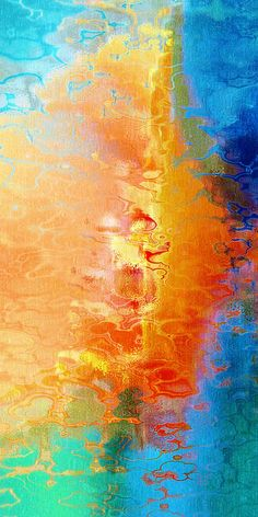 """""""Slice Of Heaven"""" by Jaison Cianelli.  Contemporary digital mixed media on canvas, acrylic , or metal."""