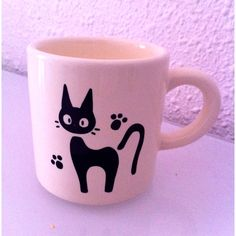 Jiji cup! Using a sharpie and then baked perhaps?