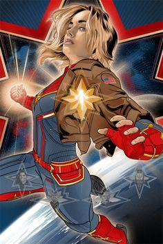 Captain Marvel (x-post from /r/Captain_Marvel) Ms Marvel, Marvel Dc Comics, Marvel Avengers, Marvel Women, Marvel Girls, Marvel Heroes, Marvel Characters, Marvel Movies, Captain Marvel Carol Danvers