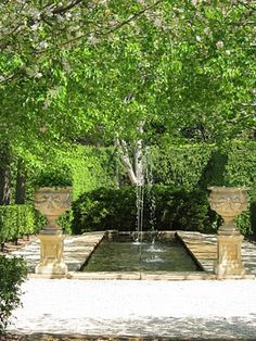 simple and stunning garden water feature