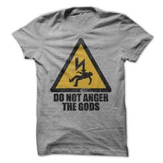 Do Not Anger The Gods - Theyre a Smiteful Lot T-Shirts, Hoodies (19$ ==►► Shopping Here!)