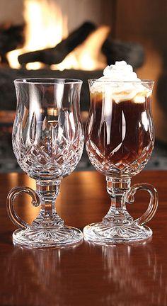Irish Coffee Mugs Set of 6 Glass by World Market