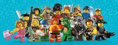 Lego Minifigures Series 5 is out! I think this is the best collection yet! I especially love the dwarf, gladiator, London guard, and Jane Goodall (and her chimp friend, of course). You're never too told for Lego!