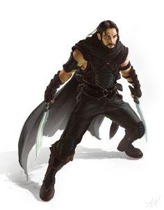Dank D&D character concept thief rogue