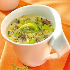 Cheese and Leek Soup Recipes Weight watchers Cheese and Leek Soup Recipes Weight watchers Weith Watchers, A Food, Food And Drink, Paleo Soup, Food Names, Ketogenic Recipes, Weight Watchers Meals, Vegetable Dishes, Soup Recipes