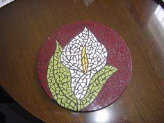 mosaic lily trivet | Flickr - Photo Sharing!