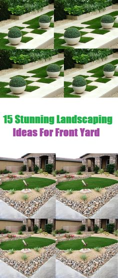 15 Stunning Landscaping Ideas For Front Yard