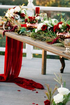 Temecula farm tables event rentals wedding party boho natural san diego orange county los angeles redlands riverside flowers alter ladders marsala red and blush colors vintage settee farm tables industrail farm tables tablescaps sweetheart table greenery