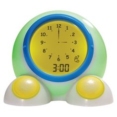 Ok! to Wake Clock.  Screen glows green when kids are allowed to get out of bed (i.e. NOT 4 a.m.) Genius!