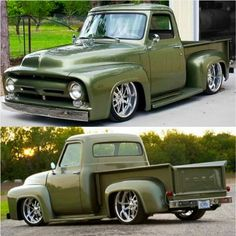 This car is my dream vehicle. Pickup Auto, Custom Pickup Trucks, Old Ford Trucks, Old Pickup Trucks, Hot Rod Trucks, Cool Trucks, Classic Pickup Trucks, Ford Classic Cars, Cadillac