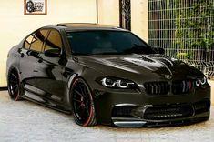 BMW F10 M5 black