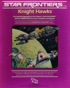 Face the excitement of ship-to-ship combat and plan your tactical victories on the Knight Hawks game board.