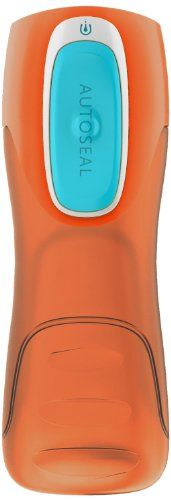 Contigo Trinkflasche Trekker, Orange Turqouise, 1000-0252 - http://geschirrkaufen.online/contigo/orange-turqouise-contigo-trinkflasche-trekker