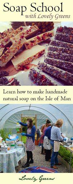 Learn how to make natural, cold-process soap with Tanya from Lovely Greens! The four hour class includes all materials/ingredients, making two batches of personalised soap, and a lovely meal and refreshments.