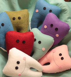 Tooth fairy pillows.
