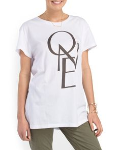 One By One Gypsy Tee