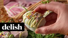 Cookie Dough Easter Eggs | Delish