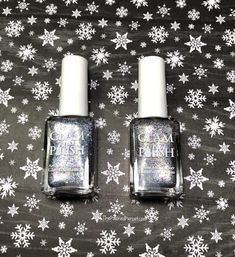 """Glam Polish """"I'd Have Ugly Nails Without Nikki"""" Duo - Limited Edition - The Polished Pursuit Blue Glitter, Little Christmas, Indie Brands, Happy Weekend, Being Ugly, Polish, Purple, Diamond, Nails"""
