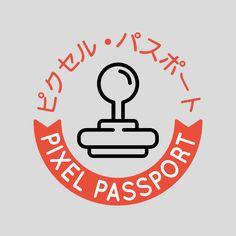 Pixel passport unos geniales dise os de sellos para Dragon quest builders cantlin garden