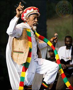 Bunny Wailer original member of reggae  The Wailers