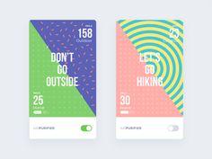 Air purifier App ui concept design