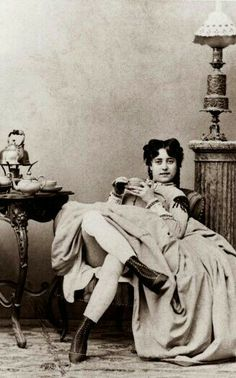 19th century prostitute