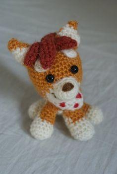 amigurumi Viki Dibidogs charachter (dog)