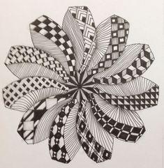 The creativity people have amazes me. Zentangle Drawings, Doodles Zentangles, Mandala Drawing, Doodle Drawings, Doodle Art Designs, Doodle Patterns, Zentangle Patterns, Zantangle Art, Zen Art
