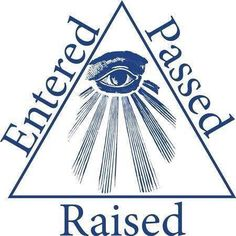 Travelling through the degrees in Freemasonry.