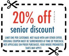 1000 images about senior discounts on pinterest senior citizen discounts retirement and the