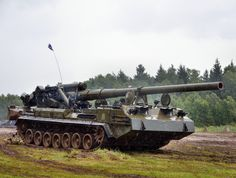 2S7 Pion 203 mm Self-Propelled Howitzer (Russia)