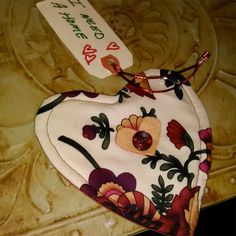 I found this heart in a tree at work. #ifaqh #ifoundaquiltedheart