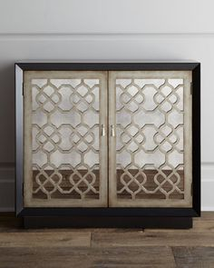 "Sweet baby in a manger I LOVE THIS for the guest room!!! ""Asher""+Mirrored+Chest+at+Horchow."